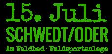 16.Juli - Waldsportanlage am Waldbad - Schwedt/Oder